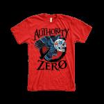 Authority Zero Candy Skull Owl Mens T-Shirt